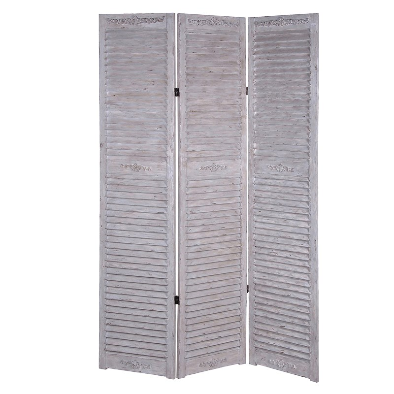 Three Piece Wood Screen / Room Divider