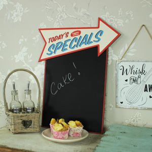 'Today's Specials' Memo Chalkboard