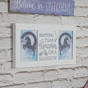 Unicorn Quote Photo Frame