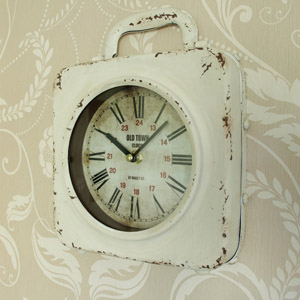 Vintage style Cream Wall Clock