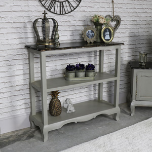 Vintage Grey Sideboard/Console Table - Leadbury Range