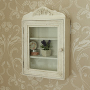 Wall Display Cabinet with Shelves