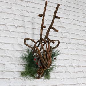 Wall Mountable Christmas Stag Head