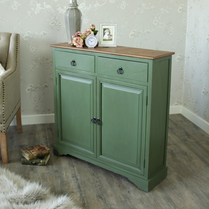 Wexford Range - Country Green Wooden Sideboard
