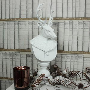 White Stag Bust