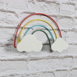 Wire Rainbow Wall Decoration