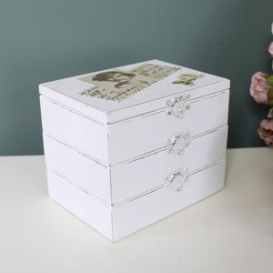 Wooden Postcard Style Jewellery Box