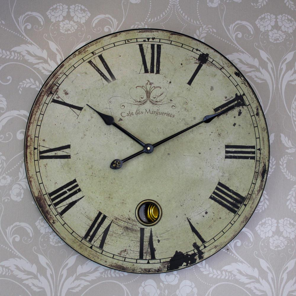 Vintage french wall clocks vintage clock extra large french style clock melody maison amipublicfo Image collections
