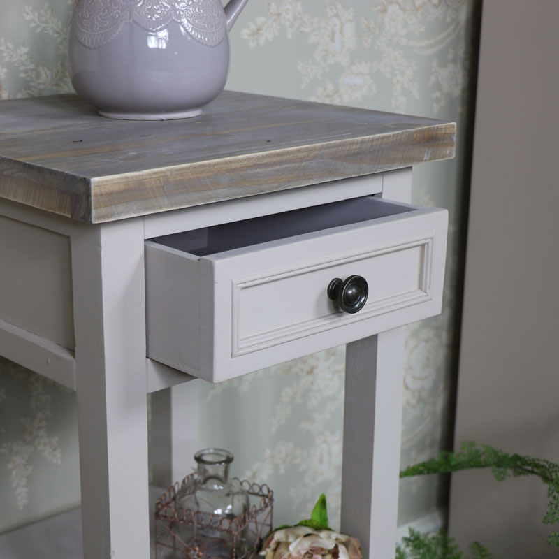 Grey Side Table - Cotswold Range
