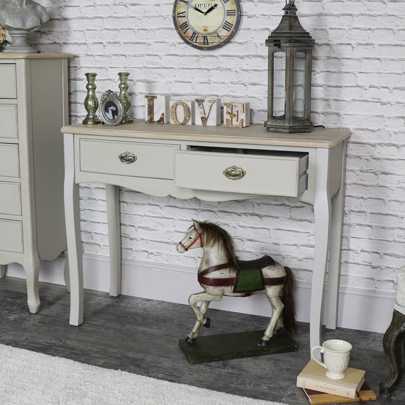 Two Drawer Dressing Table - Albi Range