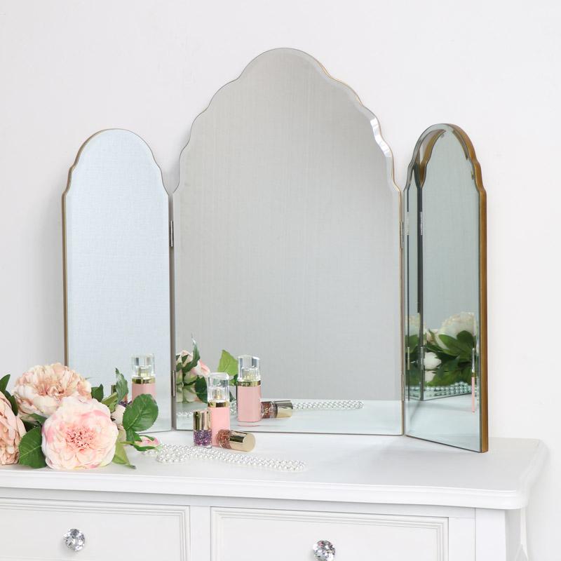 Arched Frameless Wall Mirror 40cm X 60cm, 40 X 60cm Mirror