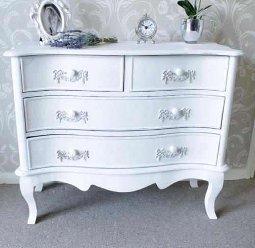 Ivory 2 over 2 chest melody maison - Dormitorios vintage chic ...