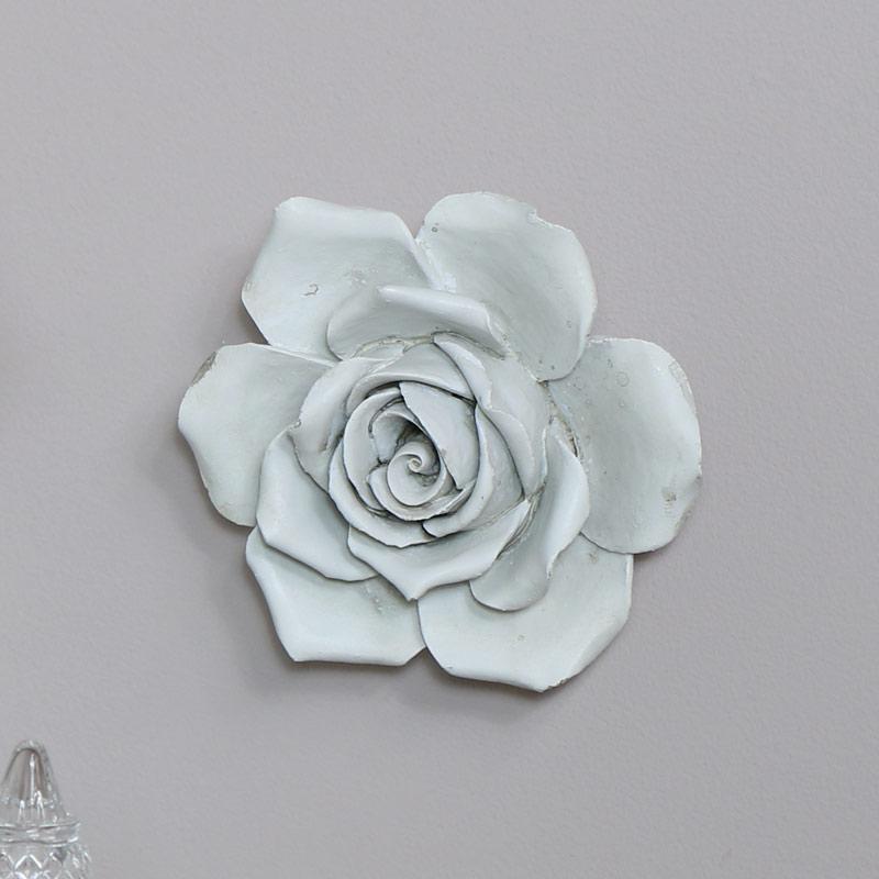 White Rose Wall Art