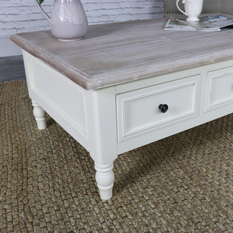 Antoinette Range - Cream Coffee Table