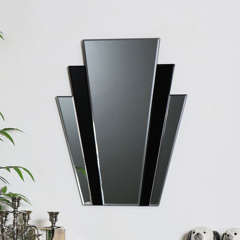 Art Deco Fan Wall Mirror