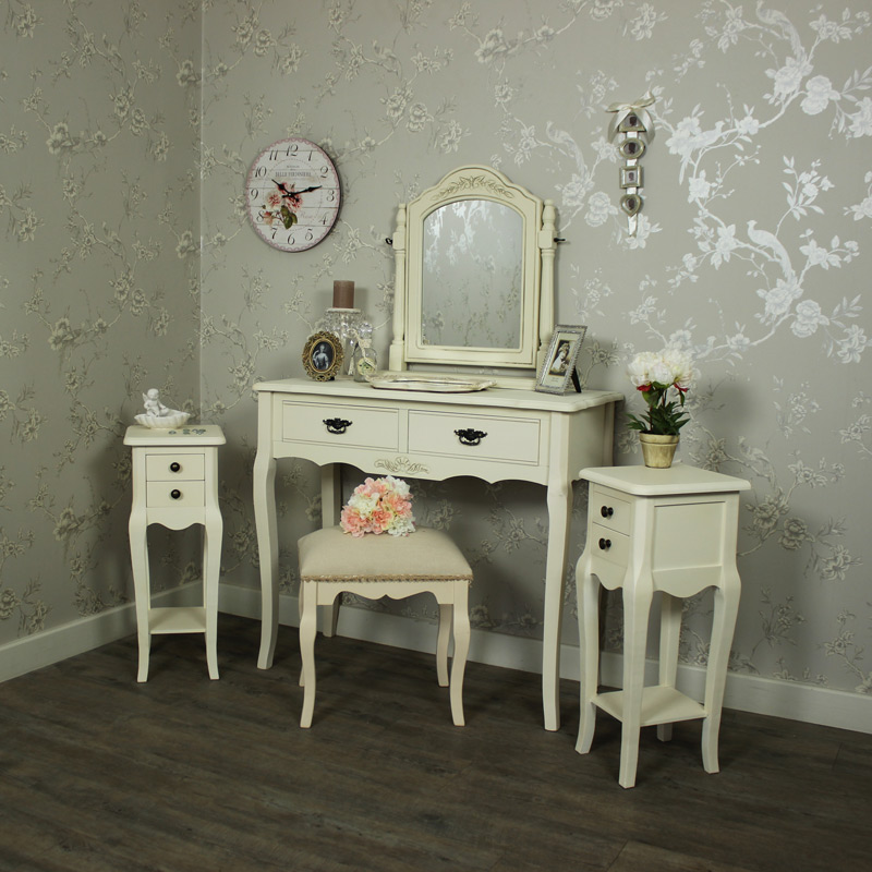 Belgravia range furniture bundle cream dressing table for Range dressing table