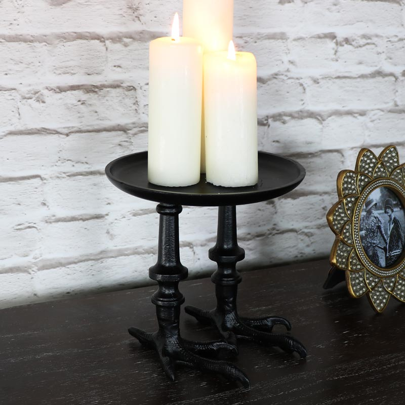 Bird's Feet Candle Stand Display