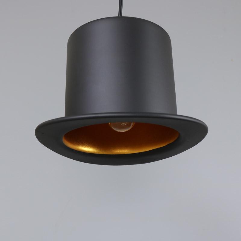 Black bowler hat pendant light melody maison black top hat pendant light aloadofball Choice Image