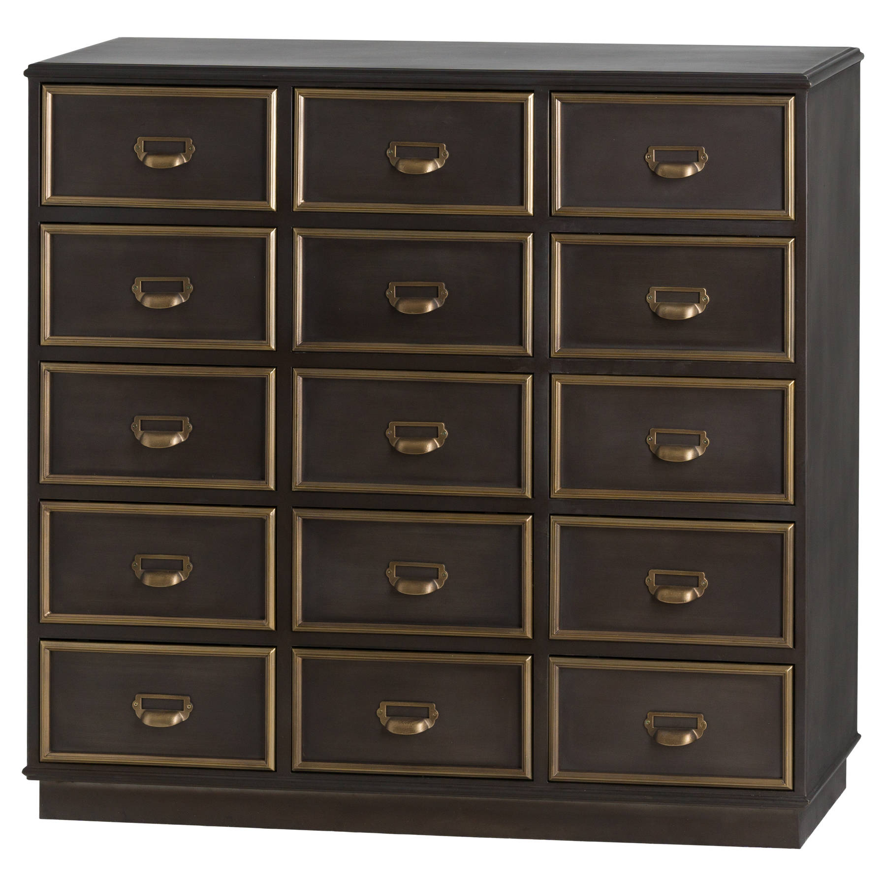 new concept 4294b 44050 Black Chest of Drawers - Seattle Range