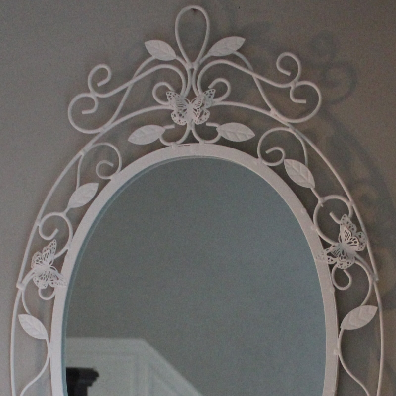 butterfly oval wall mirror butterfly oval wall mirror