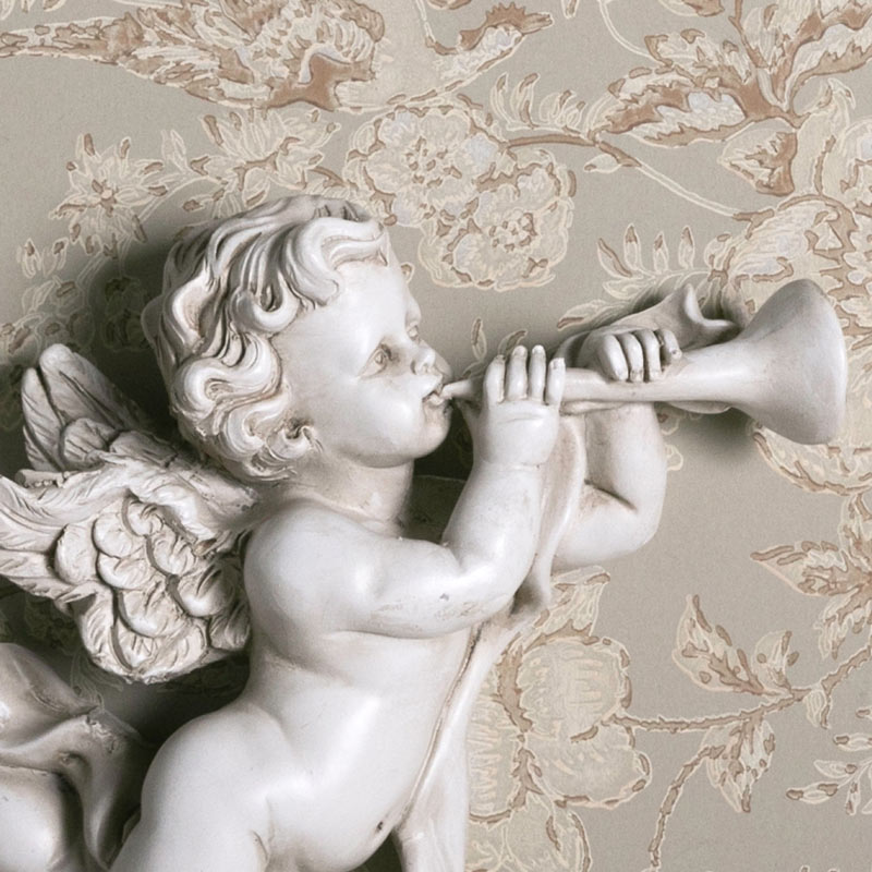 Cherub with Bugle Ornament
