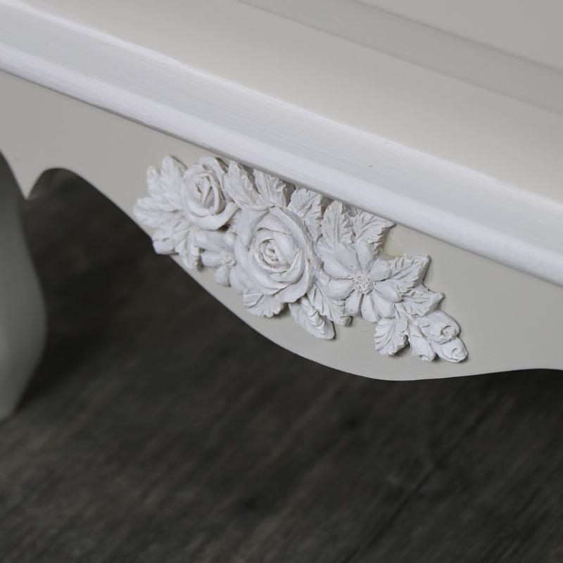 Claudette Range - Furniture Bundle, Pair Grey 3 Drawer Bedside Chests