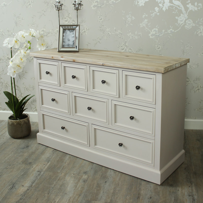 Cotswold Range - 9 Drawer Chest