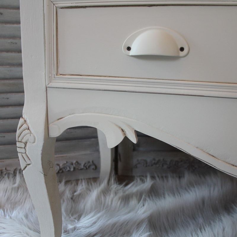 Country Ash Range - Cream Chest of Drawers