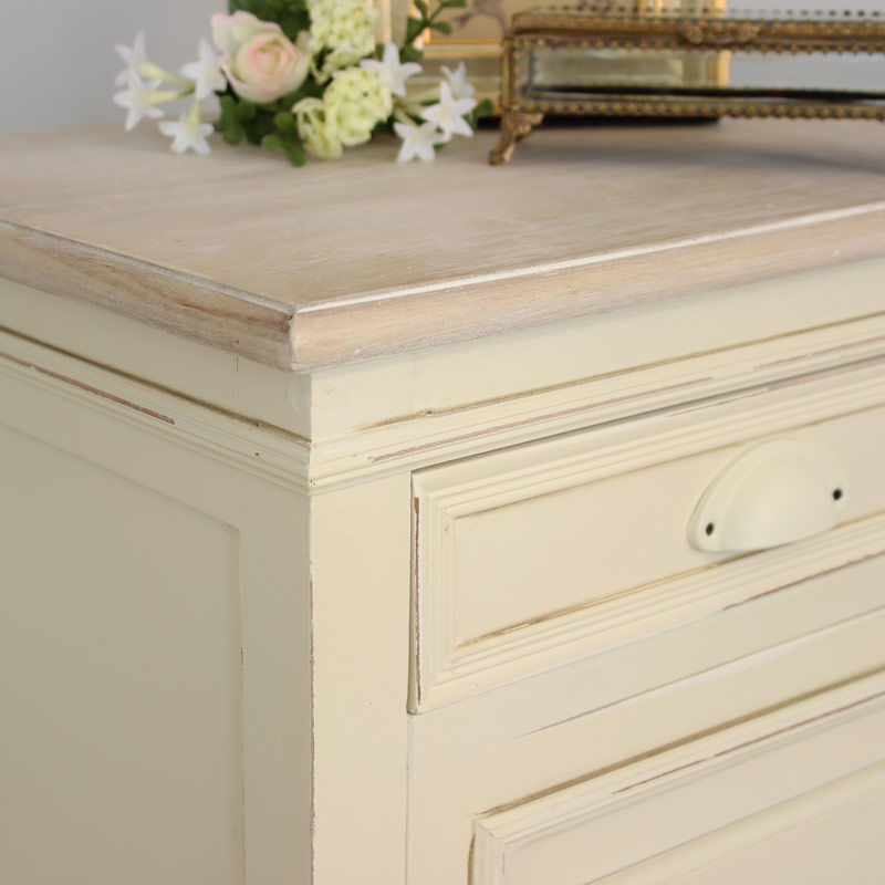 Country Ash Range - Right Hand Bedside Cabinet