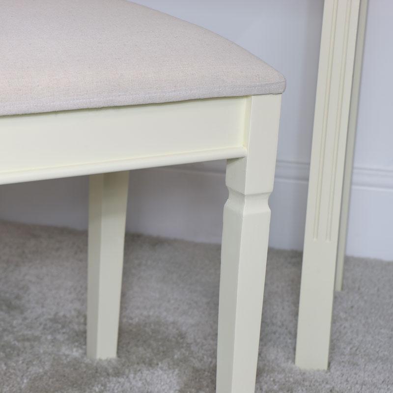 Cream Dressing Table Stool - Daventry Cream Range