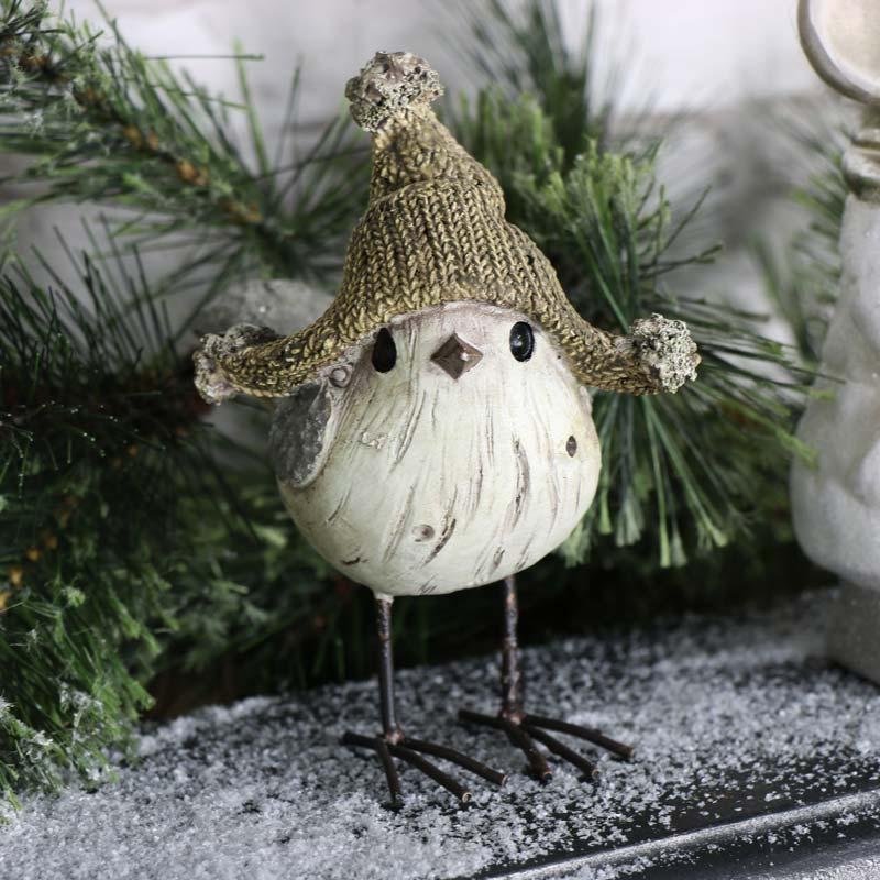 Cute Little Christmas Bird Ornament