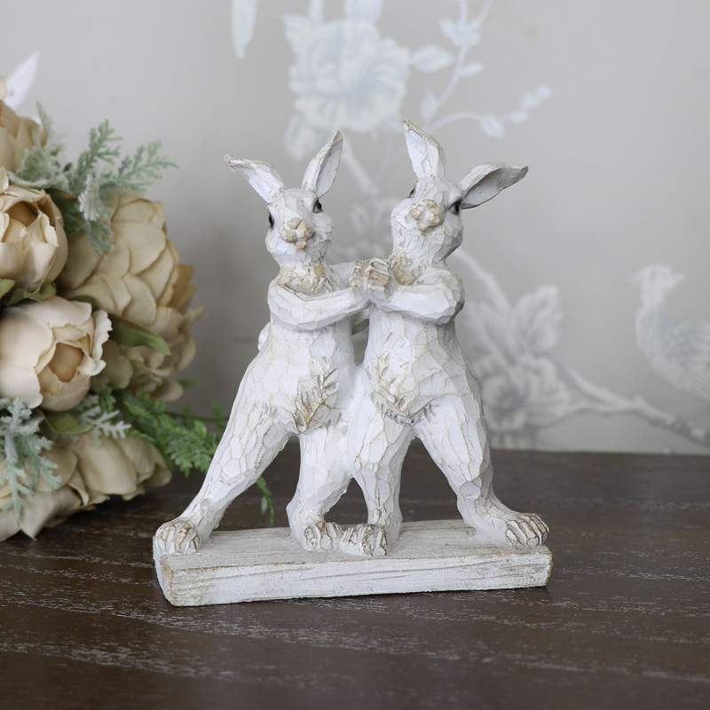 Dancing Bunny Rabbits Ornament