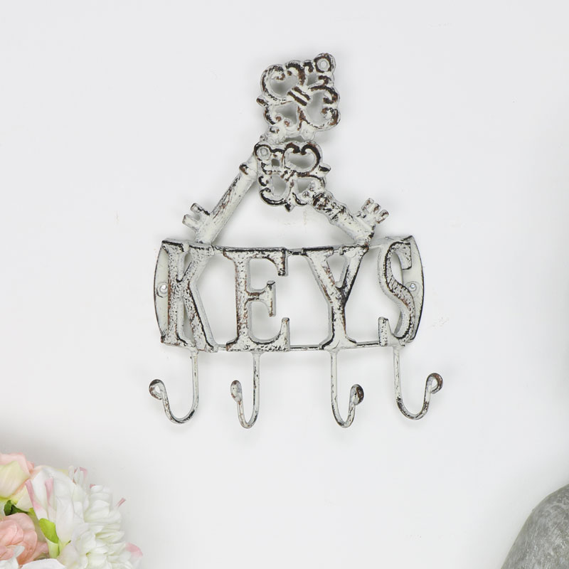 Decorative Curved Key Hooks