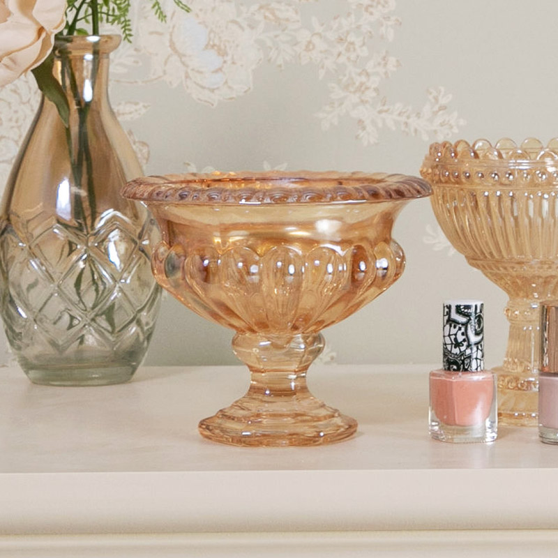 Decorative Glass Display Bowl