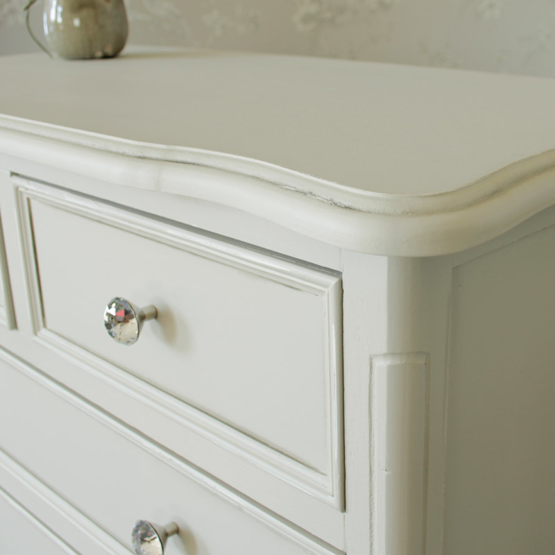 Elise Grey  Range - 5 Drawer Chest