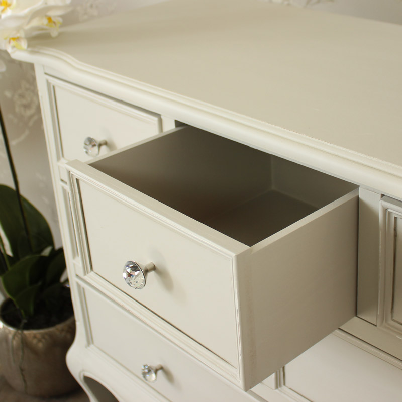 Elise Grey Range - 6 Drawer Chest