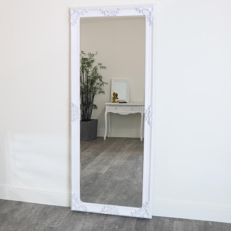 Full Length Wall Floor Mirror 85cm X 210cm, Huge Wall Mirror Uk