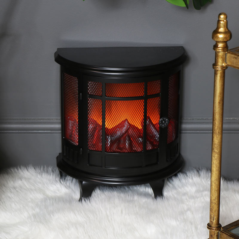 Flameless Log Burner Decorative Lamp
