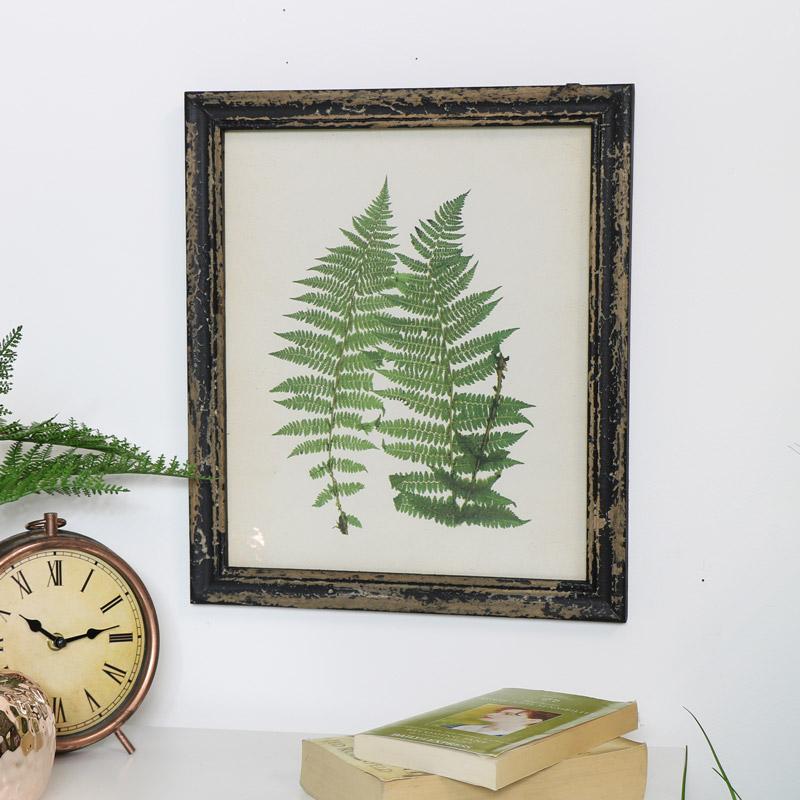 Framed Botanical Fern Print