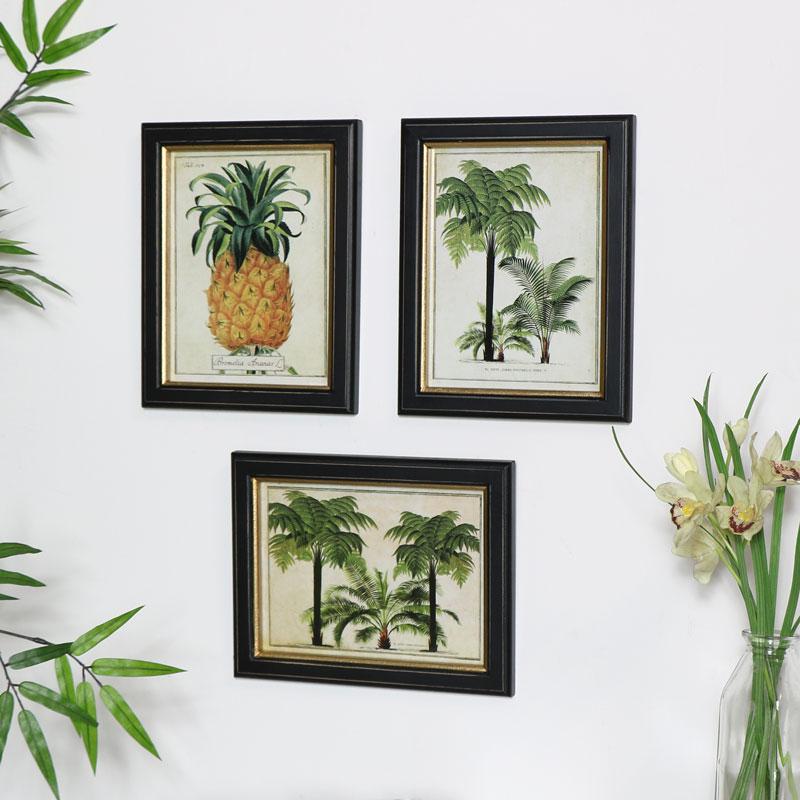 Framed Botanical Wall Art Prints