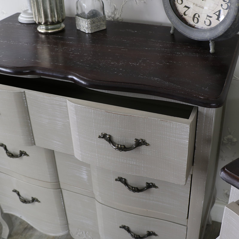 Furniture Bundle, Chest of Drawers and pair of bedsides - French ...