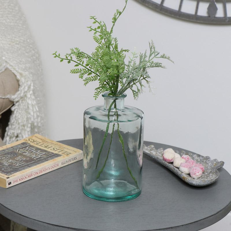 Glass Apothecary Bottle Vase
