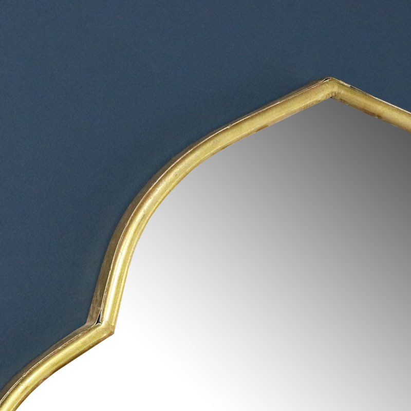 Gold Arched Wall Mirror 60cm x 88cm