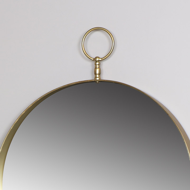 Gold Decorative Wall Mirror 61cm x 76cm
