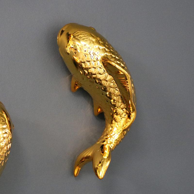 Gold Fish Wall Art