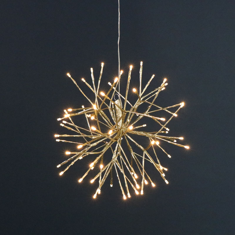 newest 3a96a a9cb1 Gold LED Star Christmas Lights