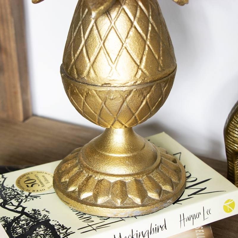 Gold Pineapple Ornament