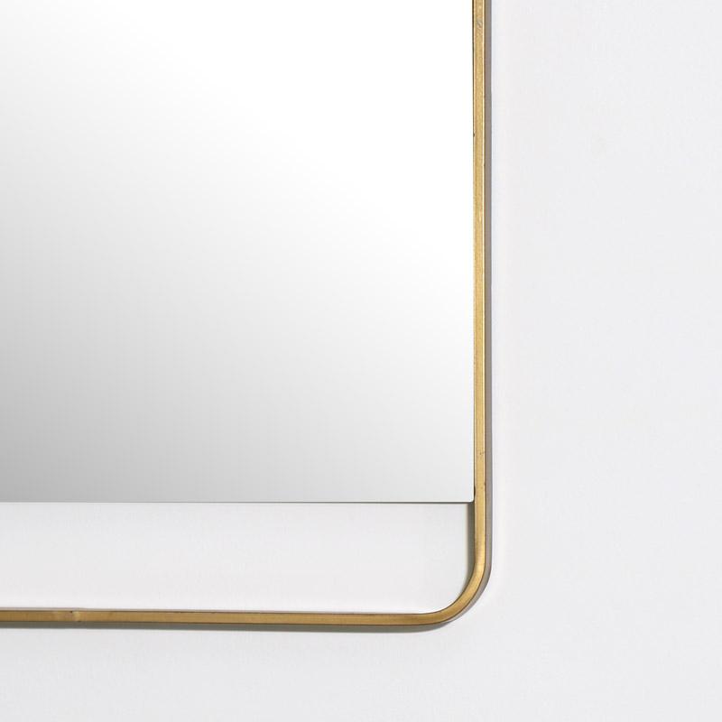 Gold Square Wall Mirror 51cm x 51cm
