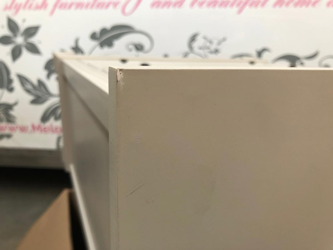Grey 5 Drawer Chest of Drawers - Daventry Taupe-Grey Range DAMAGE SECOND 1065