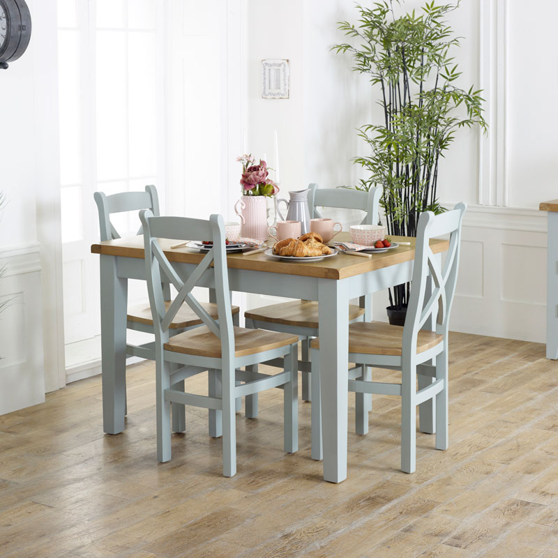 Fantastic Grey Extendable Dining Table Chairs Rochford Range Home Interior And Landscaping Ologienasavecom